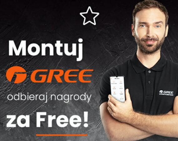 Montuj GREE – odbieraj nagrody za Free!