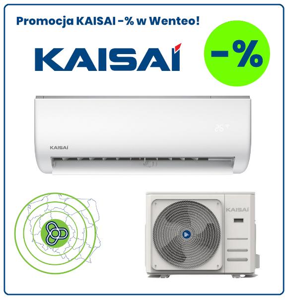 Promocja KAISAI -% w Wenteo!